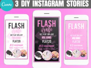 Flash Sale Instagram Story Template