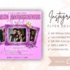 pink instagram flyer