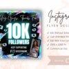 instagram followers flyer