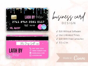 Holographic Business Card Design, C...