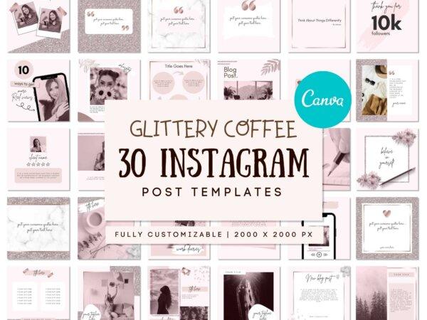 Coffee Instagram Post templates
