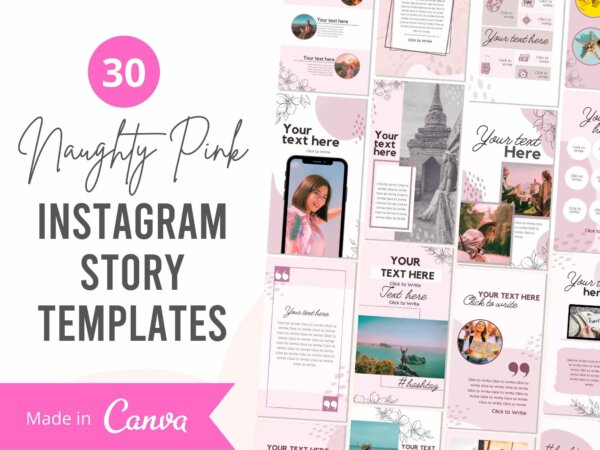 instagram story template pack