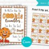 No Matter How The Cookie Crumbles You are The Best Staff Around Gift Tag Printable
