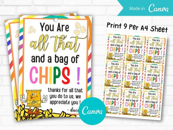 you re all that and a bag of chips printable