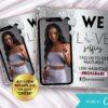 Silver client selfie Instagram flyer