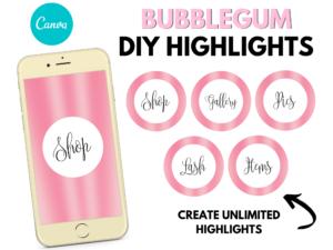 DIY Bubblegum Blush Pink Instagram ...