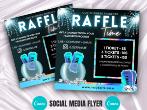 Holographic Raffle Giveaway In...