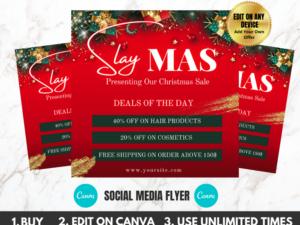 Christmas Sale Instagram Flyer...