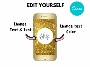 DIY Burning Gold Instagram Story Hi...