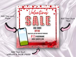 Valentines Day Sale Instagram ...