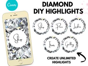 DIY Diamond Instagram Story Hi...