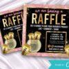 raffle giveaway instagram flyer