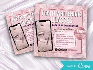 Rose Gold Teeth Whitening Inst...