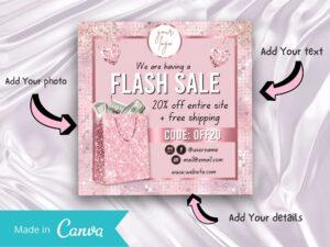 Rose Gold Flash Sale Instagram...