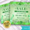 st patricks day sale flyer