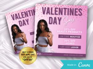 Pink Valentines Day Sale Insta...