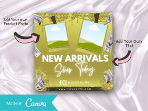Yellow New Arrivals Instagram ...