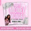 money monday sale instagram flyer