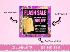 Hot Pink Flash Sale Instagram ...