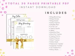 The Ultimate Blog Planner Bundle {3...