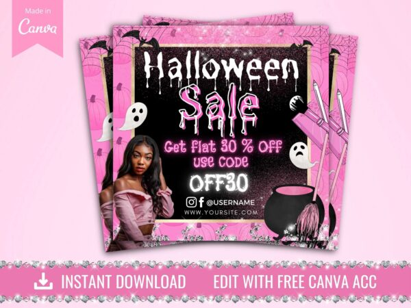 halloween sale flyer ideas